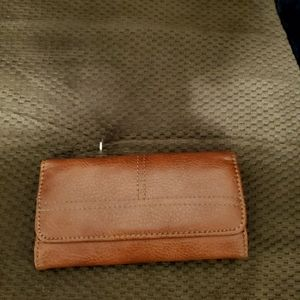 Brown wallet, Perfect condition.